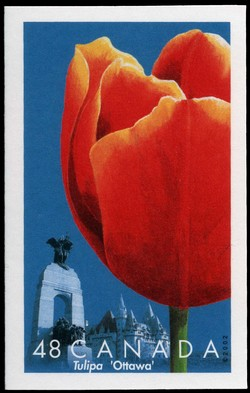 Ottawa Canada Postage Stamp | Tulips