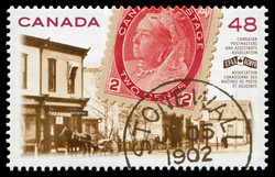 Canadian Postmasters and Assistants Association Canada Postage Stamp