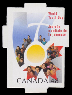 World Youth Day Canada Postage Stamp