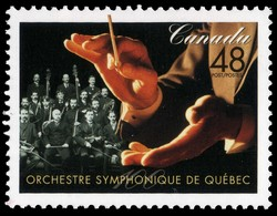Orchestre symphonique de Quebec, 100 Years  Postage Stamp