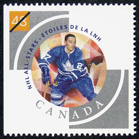 Frank Mahovlich Canada Postage Stamp
