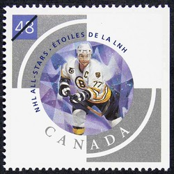 Raymond Bourque Canada Postage Stamp | NHL All-Stars