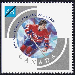 Serge Savard Canada Postage Stamp | NHL All-Stars