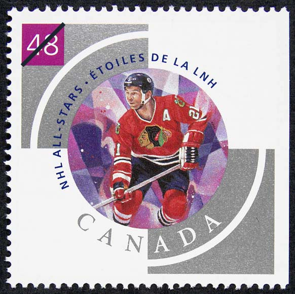 Stan Mikita Canada Postage Stamp