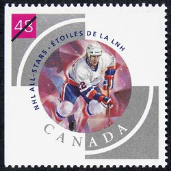 Mike Bossy Canada Postage Stamp | NHL All-Stars