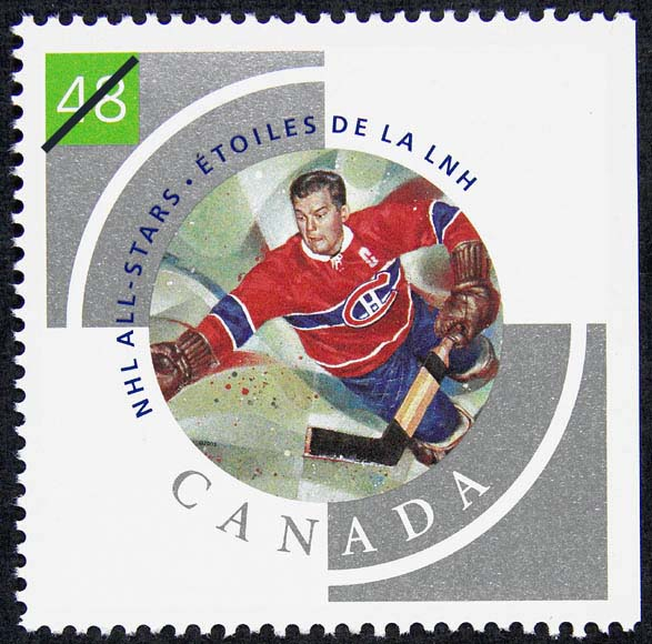 Bill Durnan Canada Postage Stamp | NHL All-Stars