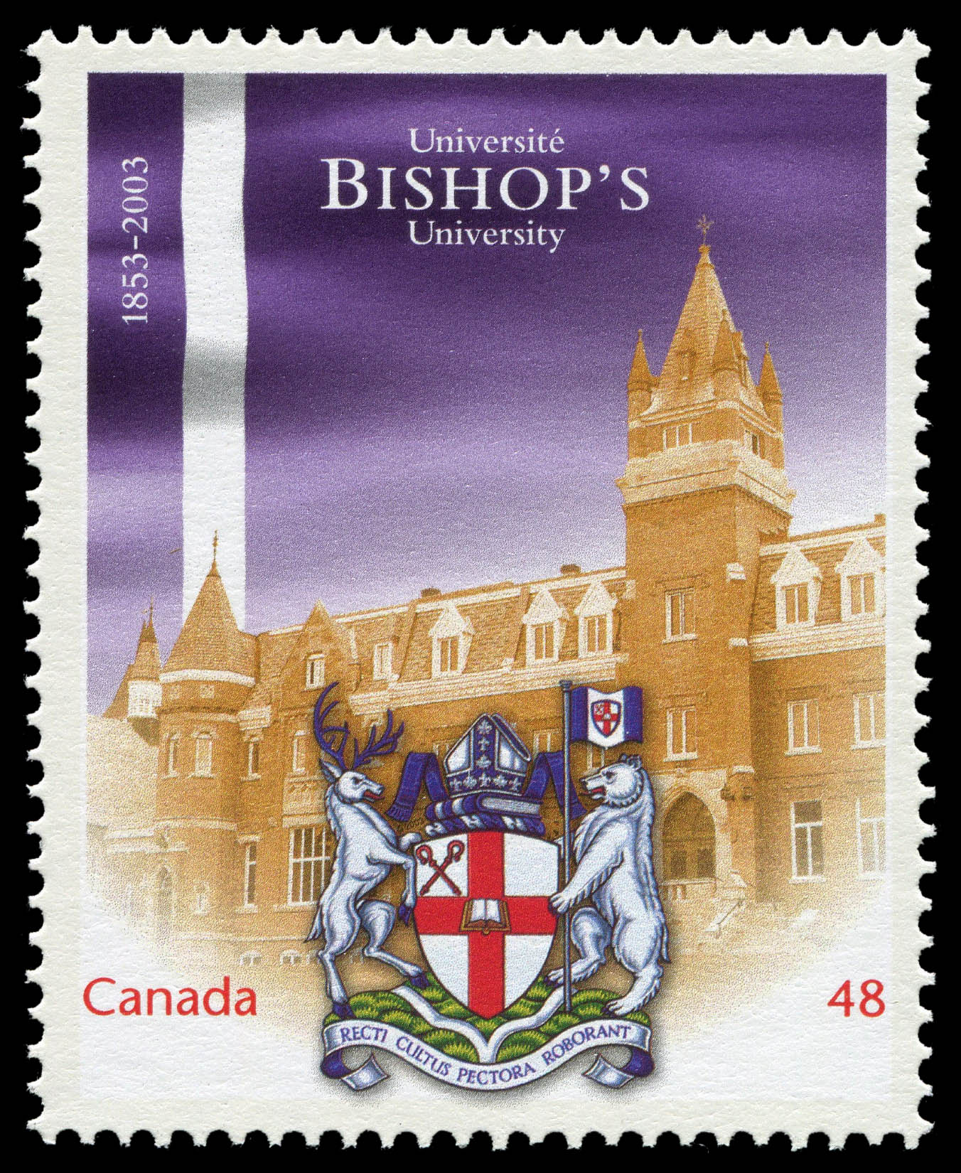 Bishop's University, 1853-2003 Canada Postage Stamp | Canadian Universities