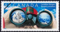 Canadian Rangers Canada Postage Stamp