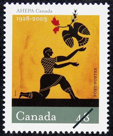 American Hellenic Educational Progressive Association (AHEPA) Canada, 1928-2003 Canada Postage Stamp