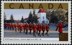 RCMP Depot Division, Saskatchewan Canada Postage Stamp | Tourist Attractions