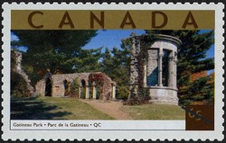 Gatineau Park, Quebec Canada Postage Stamp | Tourist Attractions