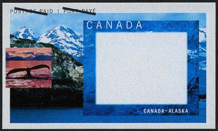 Tail of a Whale Canada Postage Stamp | Canada-Alaska Cruise Picture Postage