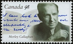 Morley Callaghan Canada Postage Stamp | Canadian Authors