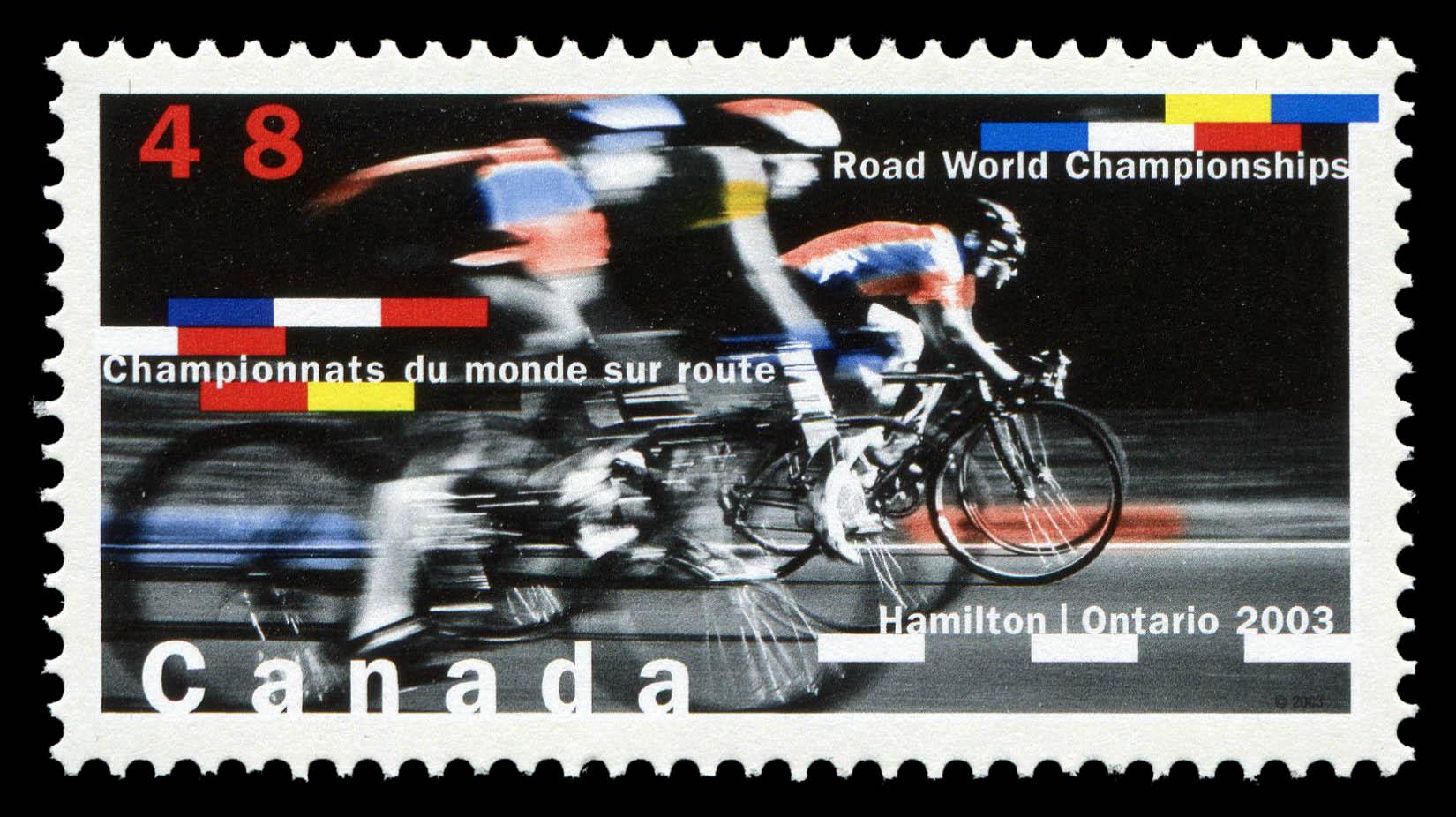 Road World Championships, Hamilton, Ontario, 2003 Canada Postage Stamp