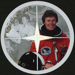 Roberta Bondar Canada Postage Stamp | Canadian Astronauts