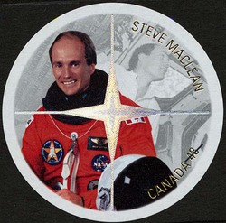 Steve MacLean Canada Postage Stamp | Canadian Astronauts