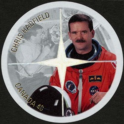 Chris Hadfield  Postage Stamp