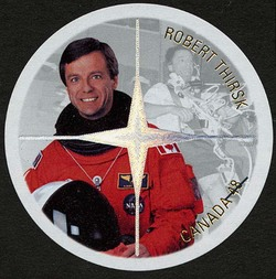 Robert Thirsk Canada Postage Stamp
