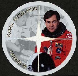 Bjarni Tryggvason Canada Postage Stamp | Canadian Astronauts