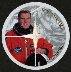 Dave Williams Canada Postage Stamp | Canadian Astronauts