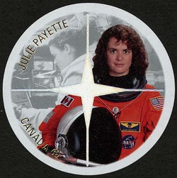 Julie Payette Canada Postage Stamp | Canadian Astronauts