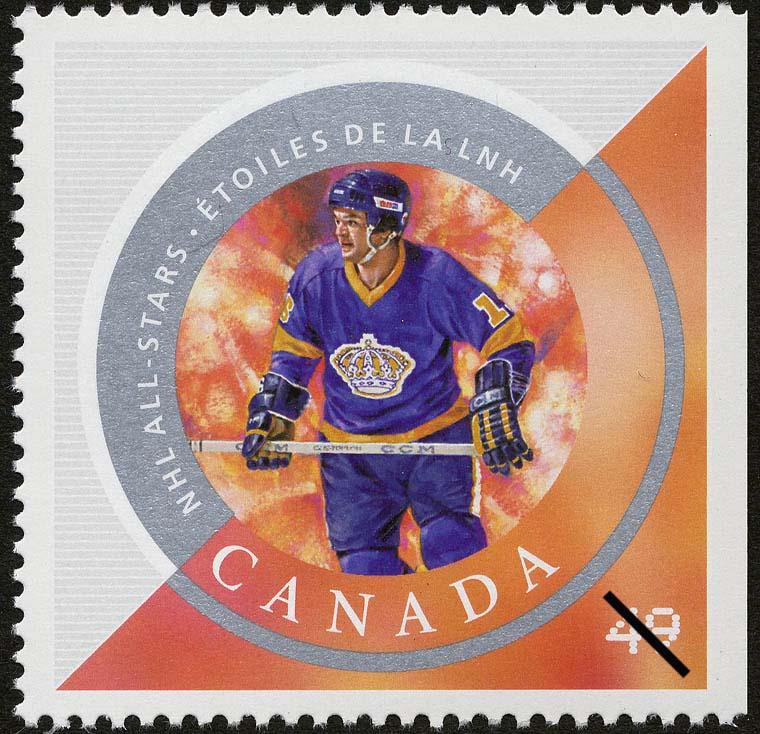 Marcel Dionne Canada Postage Stamp   NHL All-Stars