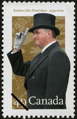 Ramon John Hnatyshyn, 1934-2002 Canada Postage Stamp