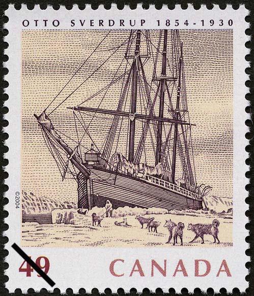 Otto Sverdrup, 1854-1930 Canada Postage Stamp