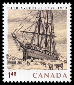 Otto Sverdrup, 1854-1930 Canada Postage Stamp