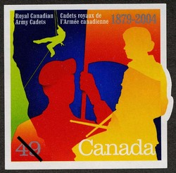 Royal Canadian Army Cadets, 1879-2004 Canada Postage Stamp
