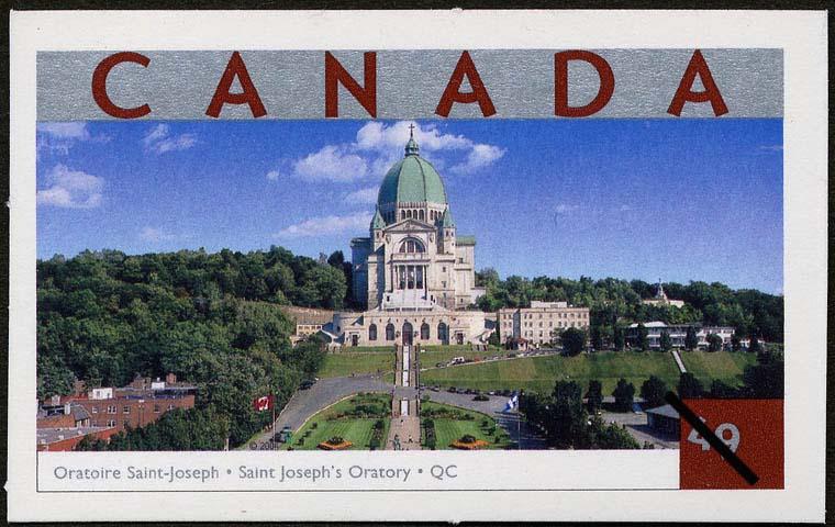 Saint Joseph's Oratory, Quebec Canada Postage Stamp   Tourist Attractions