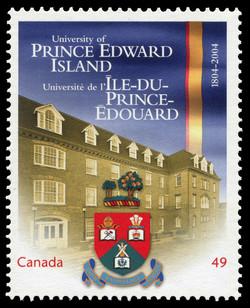 University of Prince Edward Island, 1804-2004 Canada Postage Stamp   Canadian Universities