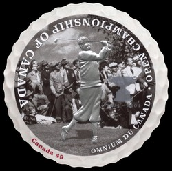 Golf - Driving Canada Postage Stamp | Open Championship of Canada