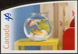 Fish Canada Postage Stamp | Pets