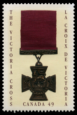 The Victoria Cross Canada Postage Stamp | Victoria Cross