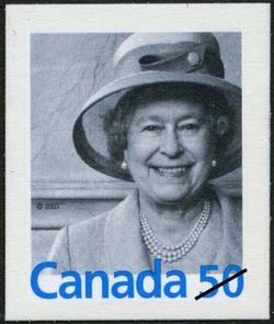 Queen Elizabeth II Canada Postage Stamp | Queen Elizabeth