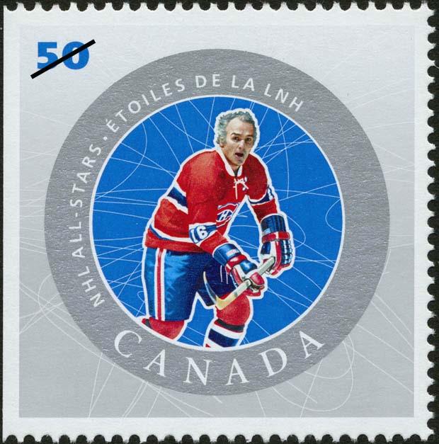 Henri Richard Canada Postage Stamp | NHL All-Stars