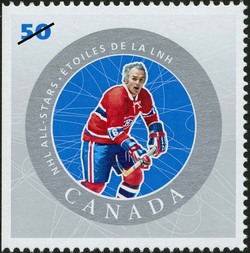 Henri Richard Canada Postage Stamp | NHL All-Stars