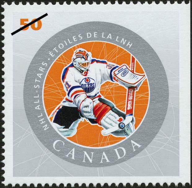 Grant Fuhr Canada Postage Stamp