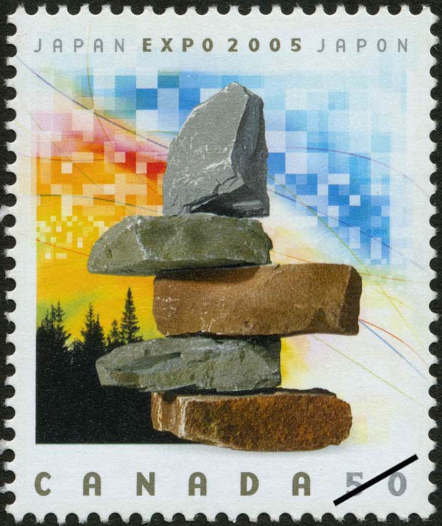 Japan, Expo 2005 Canada Postage Stamp