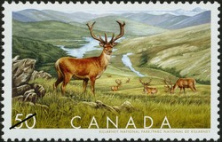Killarney National Park Canada Postage Stamp | Biosphere reserves