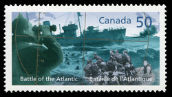 Battle of the Atlantic Canada Postage Stamp