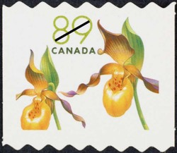 Yellow lady's slipper - Cypripedium calceolus Canada Postage Stamp | Flowers