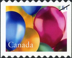 Celebrate - Birthday Canada Postage Stamp | Celebration