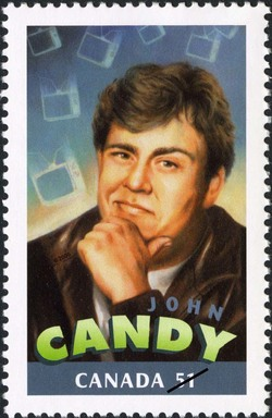 John Candy Canada Postage Stamp | Canadians in Hollywood