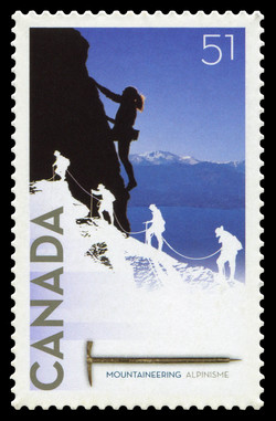 Mountaineering Canada Postage Stamp