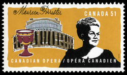 Maureen Forrester Canada Postage Stamp | Canadian opera