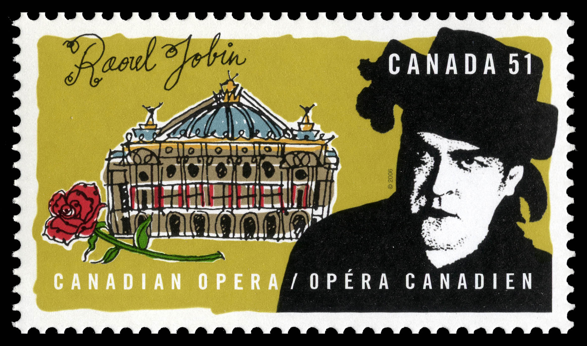 Raoul Jobin Canada Postage Stamp | Canadian opera