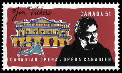 Jon Vickers Canada Postage Stamp | Canadian opera