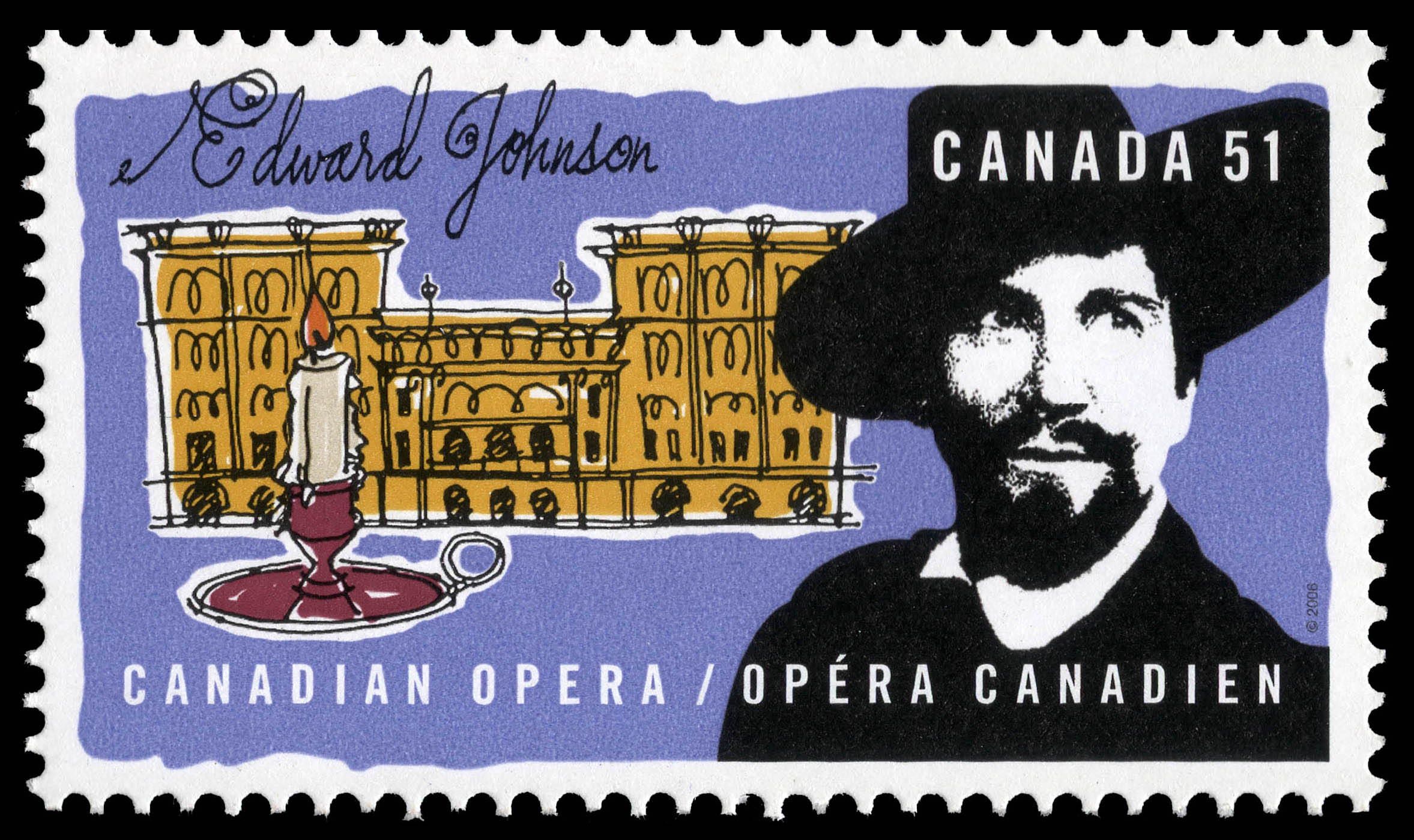 Edward Johnson Canada Postage Stamp | Canadian opera